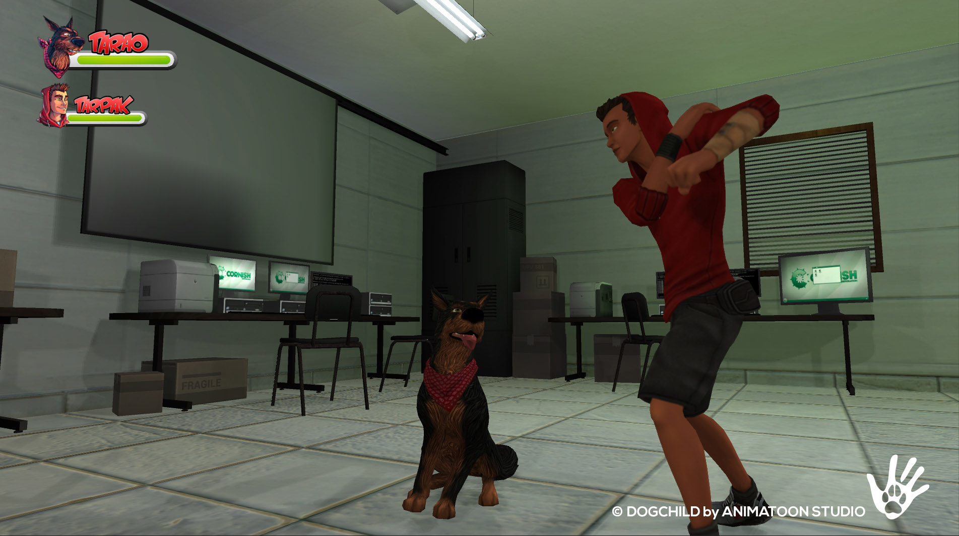 Captura Dogchild Visita Animatoon 02