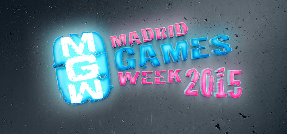 Madrid Games Week Logo neón