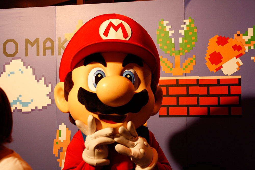 Mario Madrid Games Week