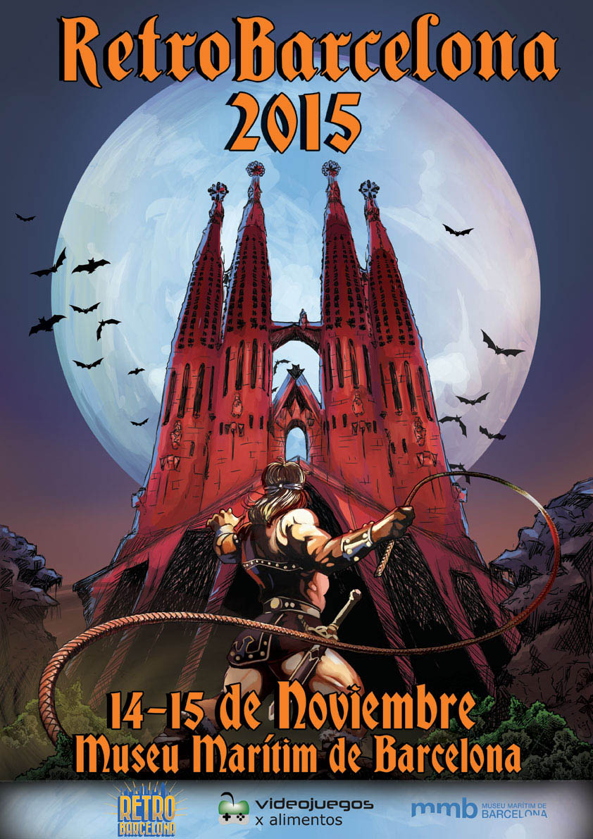 RetroBarcelona 2015 Cartel