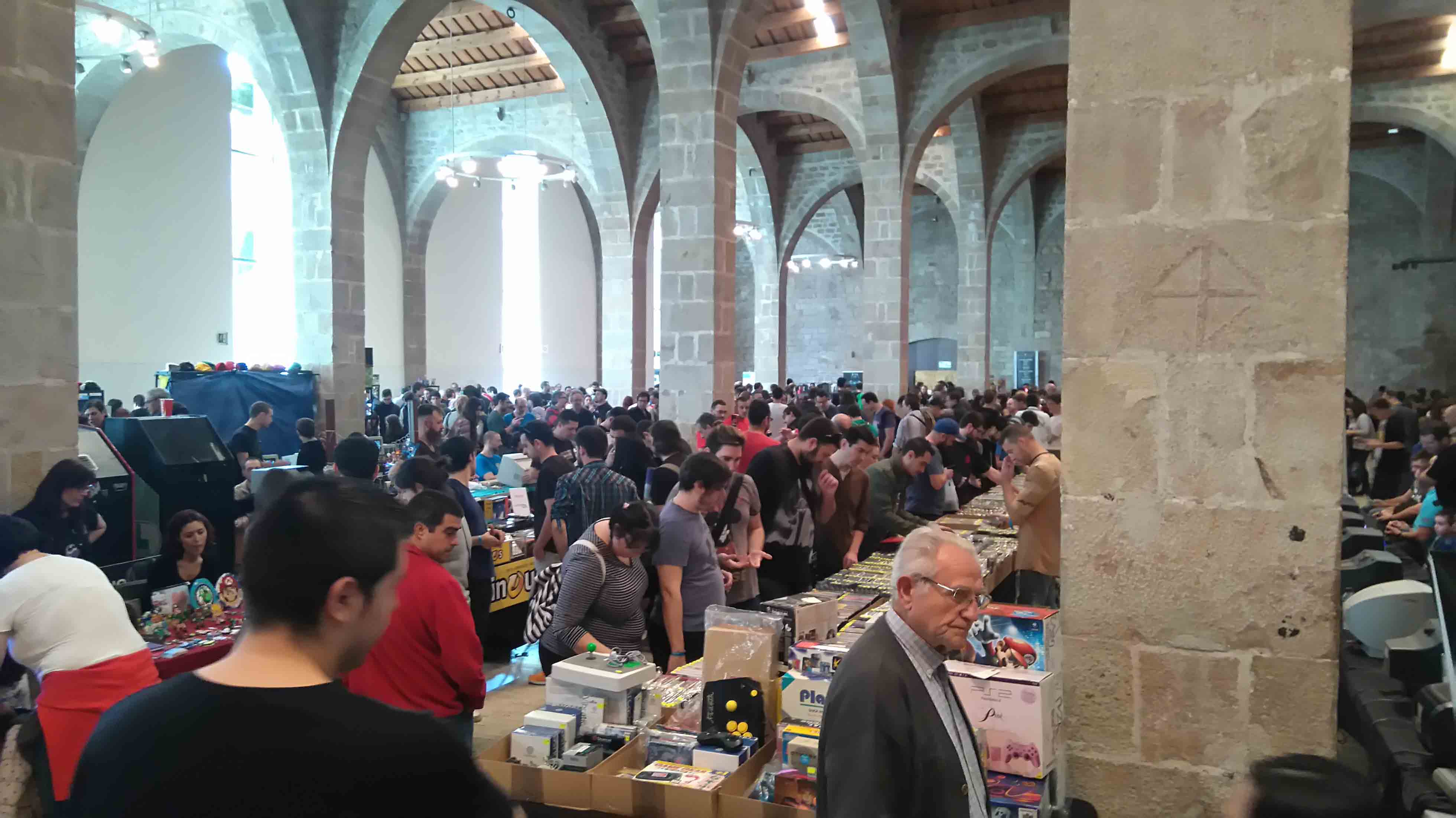 RetroBarcelona 2015 interior