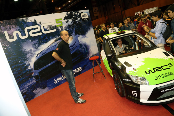 WRC5 en Madrid Games Week 2015